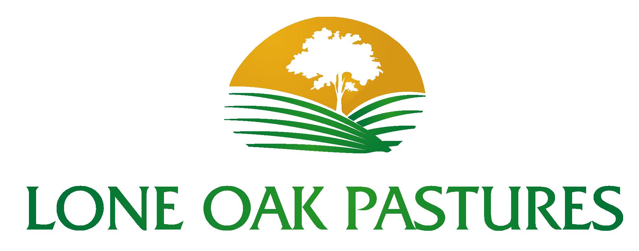 Lone Oak Pastures Logo