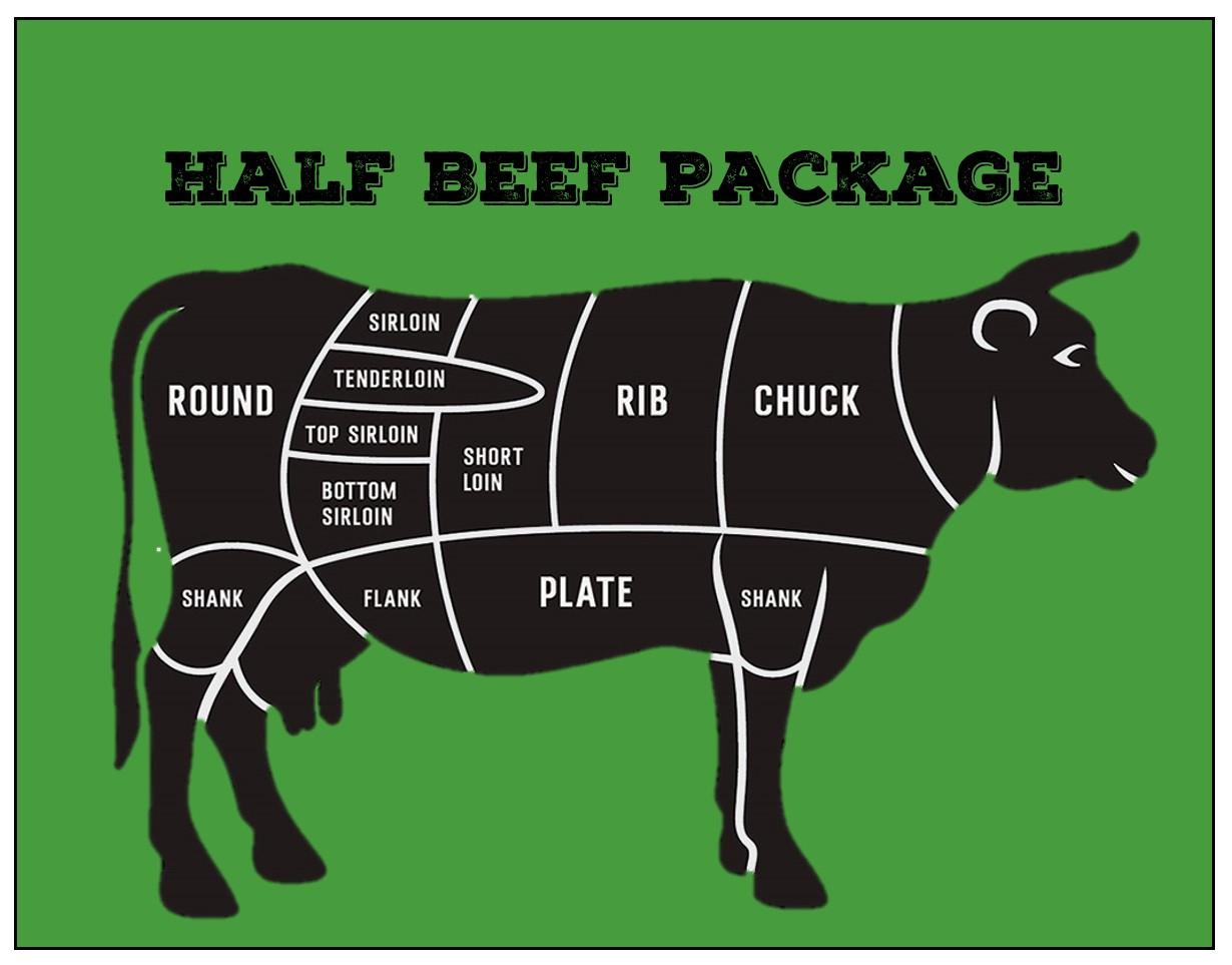Beef - Half Beef Package Deposit