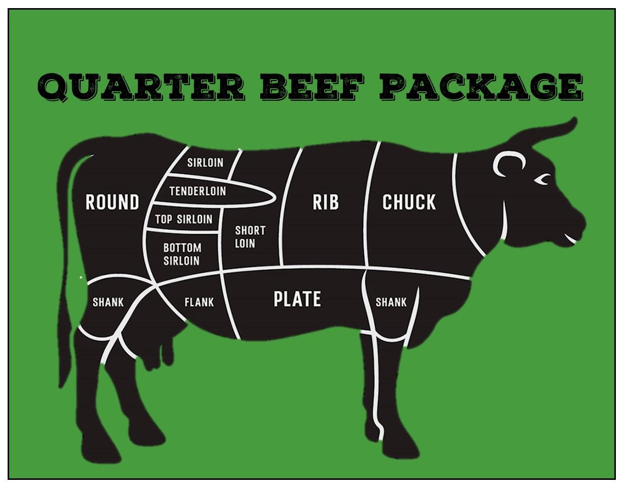 Beef - Quarter Beef Package Deposit
