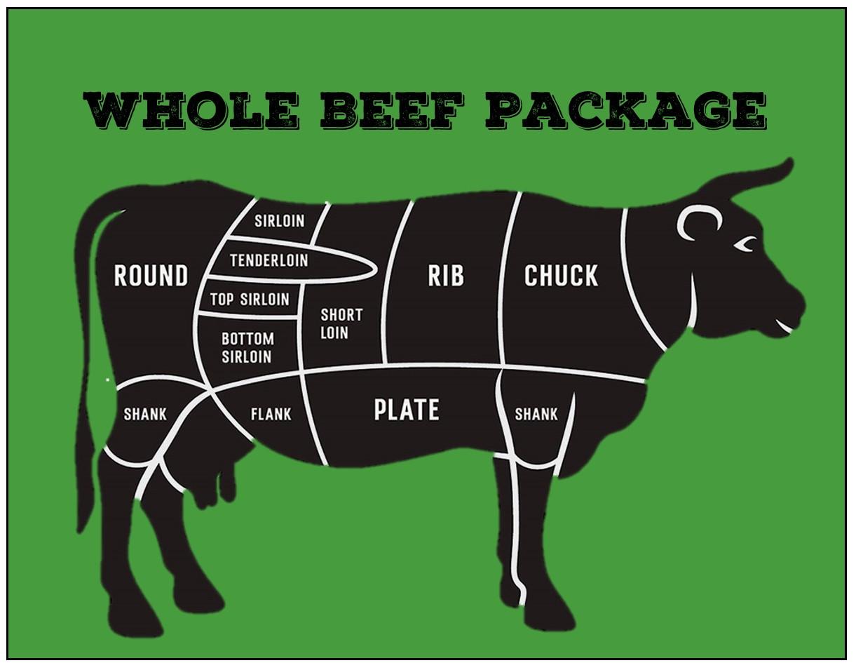 Beef - Whole Beef Package Deposit