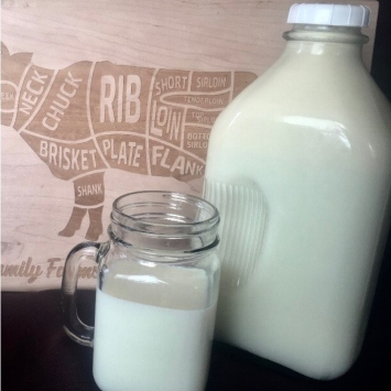 Raw Milk (1/2 Gallon)