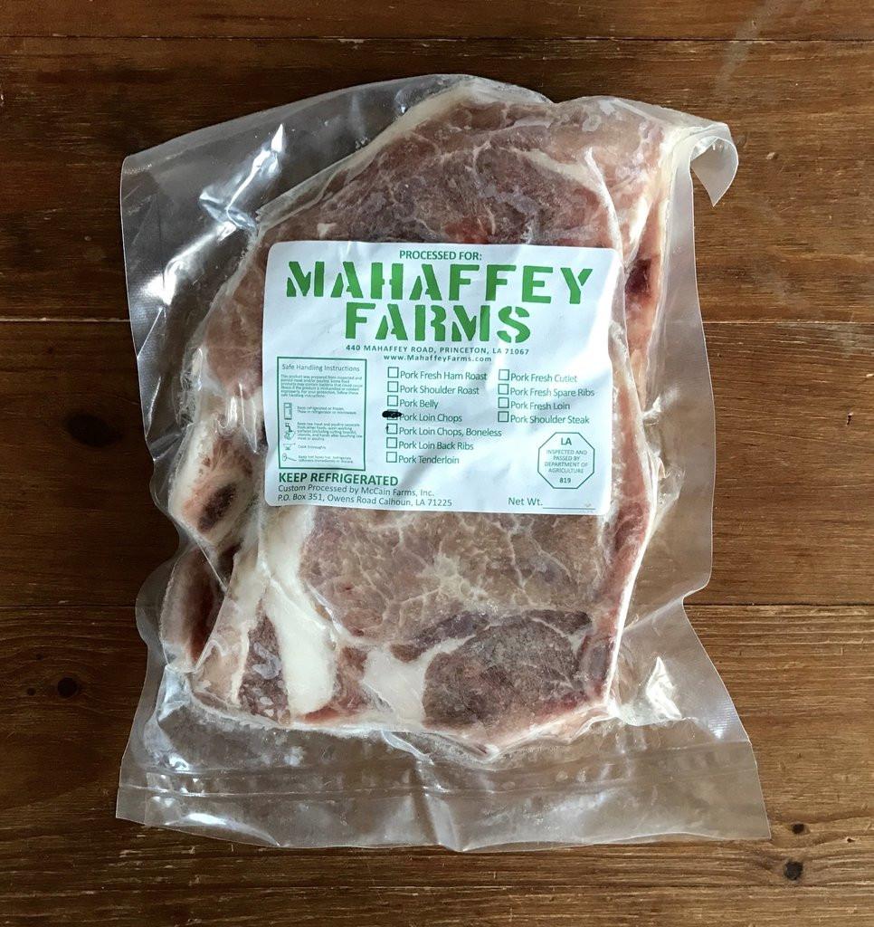 Pork Chops (Thin Bone-in)