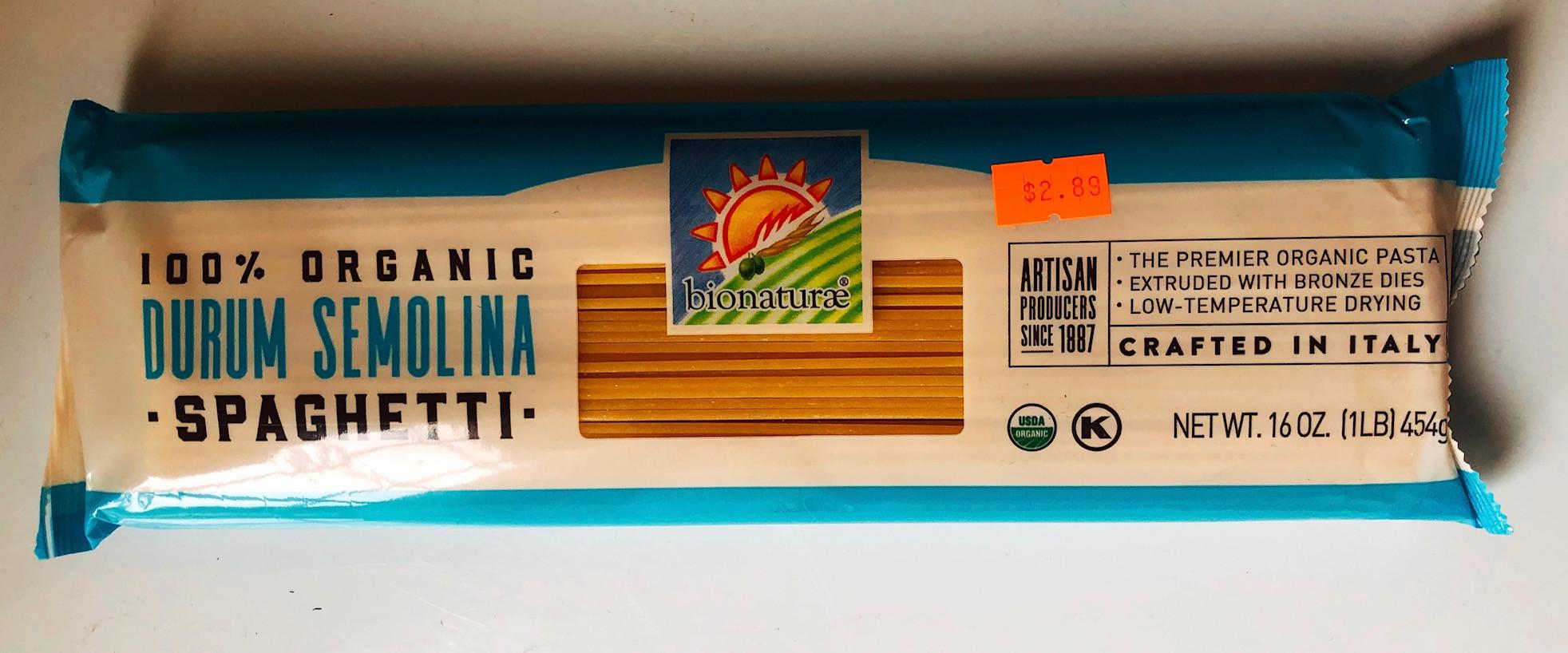 Bionaturae - Organic Spaghetti