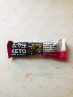 Munk Pack - Keto Nut & Seed Bar (Sea Salt & Dark Chocolate)