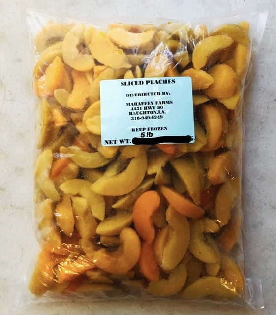 Cypress Grove Produce - Sliced Peaches (Frozen)