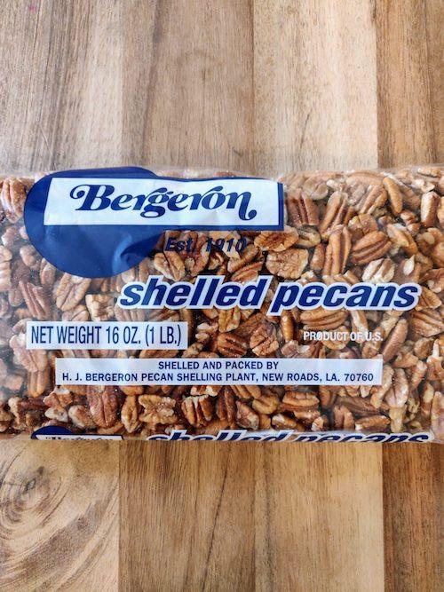 Bergeron's Shelled Pecans