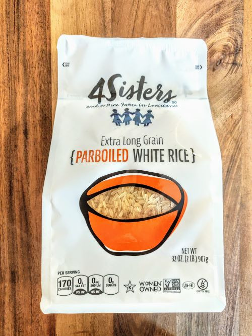 4 Sisters - Parboiled White Rice
