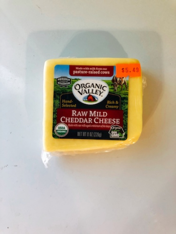Organic Valley - Raw Mild Cheddar Cheese