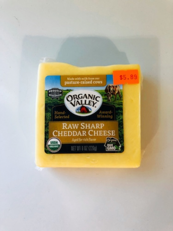 Organic Valley - Raw Sharp Cheddar Cheese