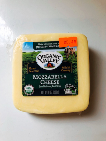 Organic Valley - Mozzarella Cheese