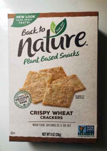 Back to Nature - Crispy Wheat Crackers