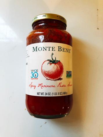 Monte Bene - Spicy Marinara Pasta Sauce