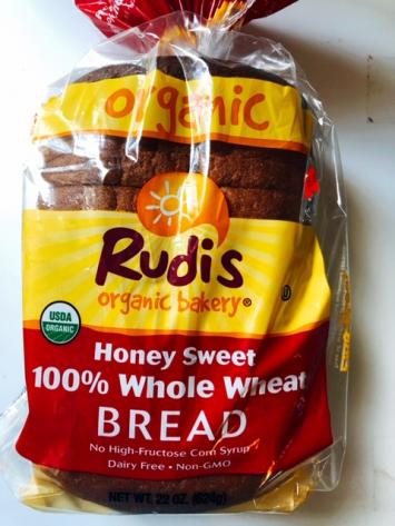 Rudi's -  Organic 100% Honey Sweet Whole Wheat Bread
