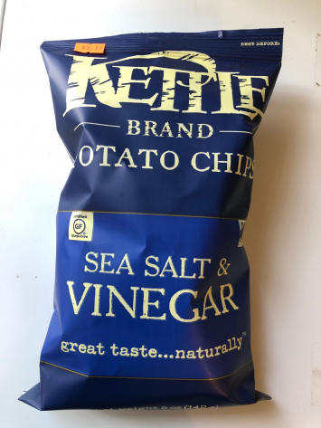 Kettle - Sea Salt & Vinegar Chips