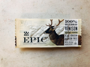 Epic - Venison Bar (Sea Salt & Pepper)