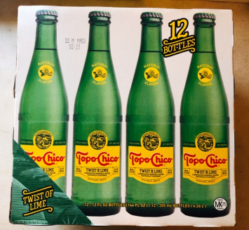 Topo Chico - Twist Of Lime Mineral Water (case)