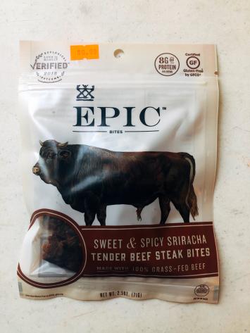Epic - Beef Steak Bites