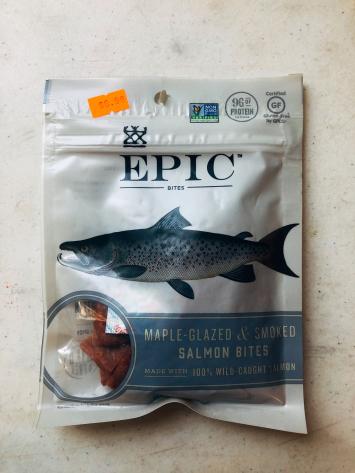 Epic - Salmon Bites (Maple-Glazed & Smoked)
