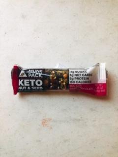 Munk Pack - Keto Nut & Seed Bar (Peanut Butter & Dark Chocolate)
