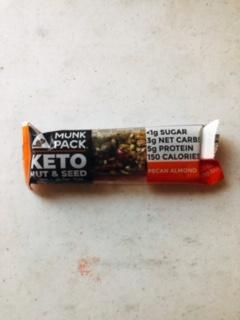 Munk Pack - Keto Nut & Seed Bar (Pecan Almond)
