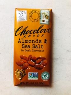 Chocolove - Almonds & Sea Salt Dark Chocolate (55%)