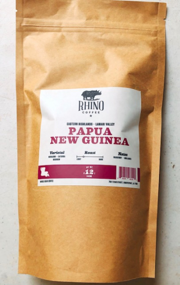 Rhino Coffee - Papua New Guinea (Ground)