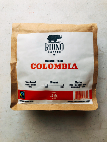 Rhino Coffee - Columbia - (Ground)