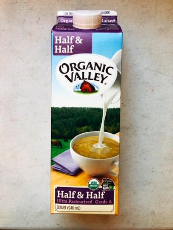 Organic Valley - Half & Half