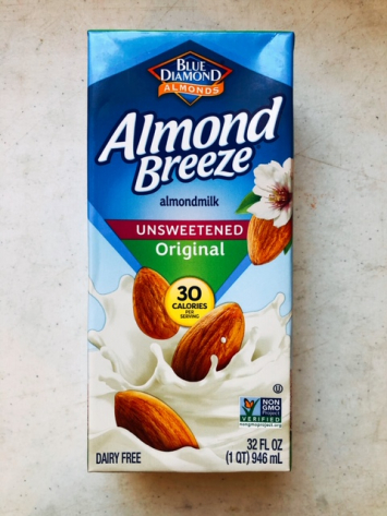 Blue Diamond - Almond Breeze (Unsweetened Almond Milk)