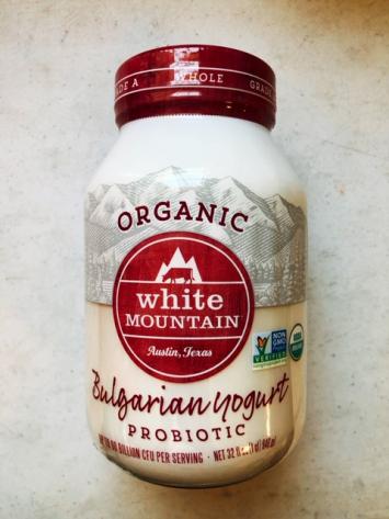 White Mountain - Organic Bulgarian Yogurt (whole milk)