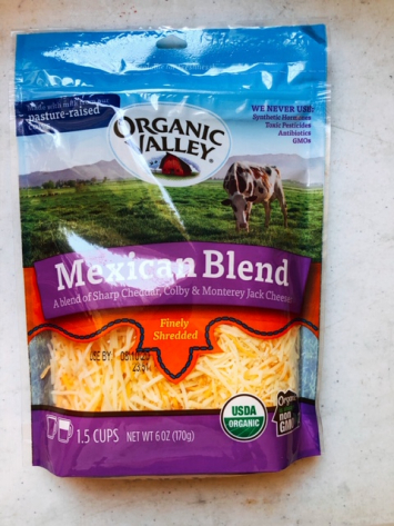 Organic Valley - Mexican Blend Shredded Cheese