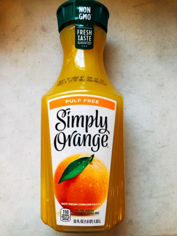 Simply Orange - Pulp Free Orange Juice