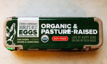 Jeremiah Cunningham's Organic and Pasture Raised Eggs - Soy Free