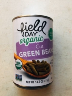 Field Day - Organic Cut Green Beans (Canned)