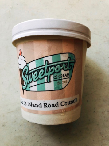 Sweetport Ice Cream - Hart's Island Road Crunch