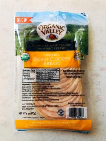 Organic Valley - Roast Chicken Breast (Deli Sliced)