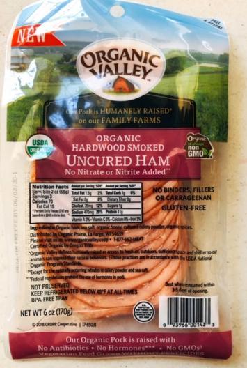 Organic Valley - Hardwood Smoked Uncured Ham (Deli Sliced)