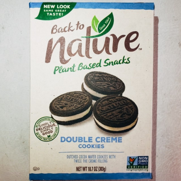 Back to Nature - Double Creme Cookies