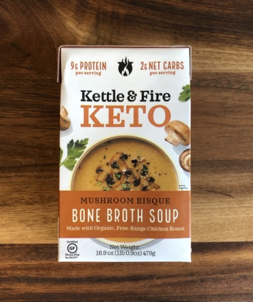 Kettle & Fire - Keto Bone Broth Soup - Mushroom Bisque