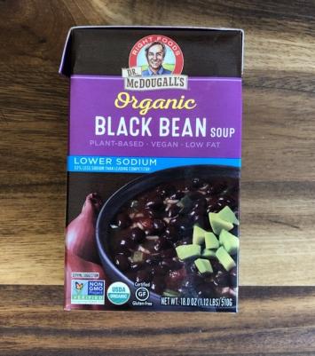 Dr. McDougall's - Organic Black Bean Soup