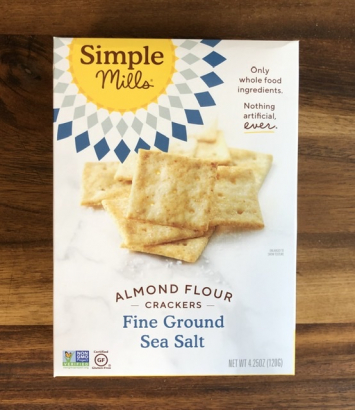 Simple Mills -  Almond Flower Crackers