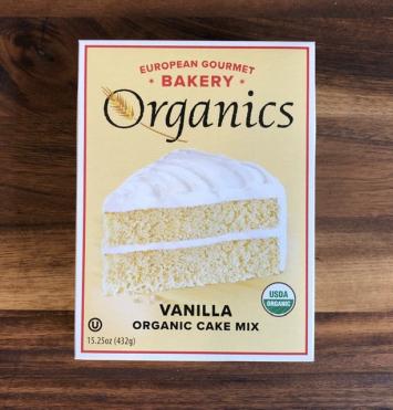 European Gourmet Bakery - Vanilla Organic Cake Mix