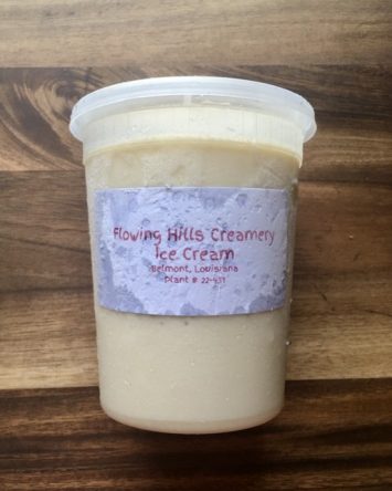 Flowing Hills Creamery - Vanilla Ice Cream Quart
