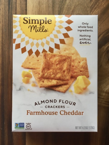 Simple Mills - Almond Flour Crackers - Farmhouse Cheddar