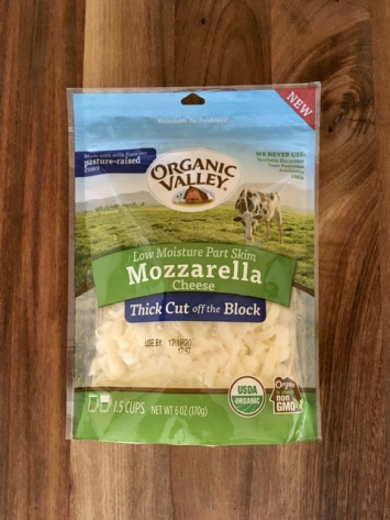 Organic Valley - Shredded Mozzarella Cheese