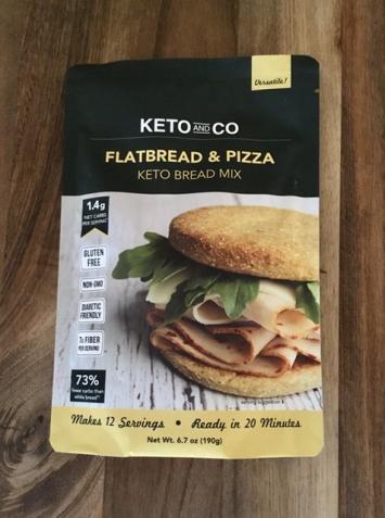 Keto & Co. - Flatbread & Pizza (Keto) Bread Mix