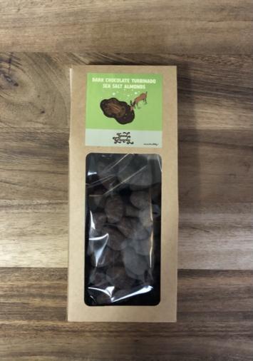 Dark Chocolate Turbinado Sea Salt Almonds