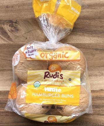 Rudi's - Organic White Hamburger Buns