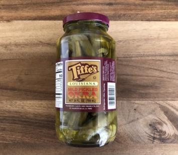 Tiffe's - Mild Pickled Okra