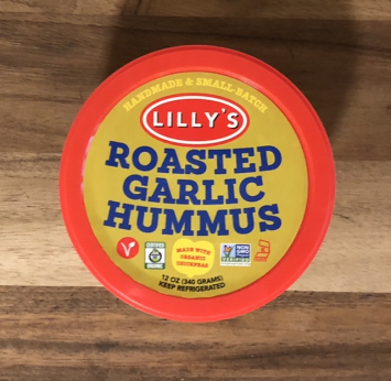 Lilly's - Roasted Garlic Hummus